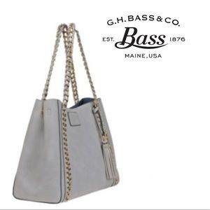 G.H. Bass & Co. Hampton Collection Tote Bag, Grey